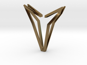 YOUNIVERSAL Simplicist, Pendant. Simplified Chic in Polished Bronze