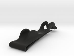 Notebook Pencil Holder in Black Natural Versatile Plastic