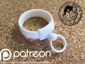 Harem Collar Mini: BJD 1/4 in White Natural Versatile Plastic