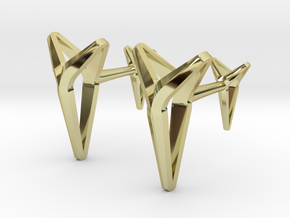 YOUNIVERSAL Cufflinks. Pure Chic for Him in 18K Gold Plated