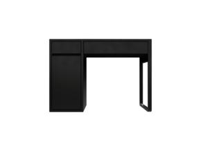 Miniature Micke Desk - IKEA in White Strong & Flexible: 1:24