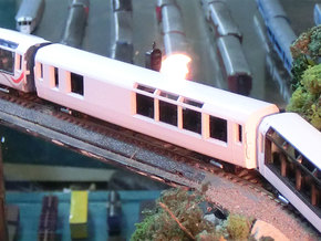 Kiwirail AKC Class NZ120 (1:120) in Frosted Ultra Detail