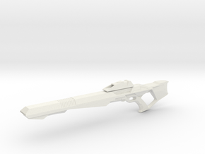 Phaser Rifle (Star Trek First Contact), 1/6 in White Strong & Flexible