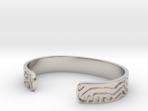 Diffusion Cuff in Platinum: Small