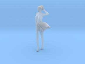 1/24 Miniskirt Girl 005 in Smoothest Fine Detail Plastic: 1:24