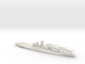 1/1250 IJN BB Yamato[1945] in White Natural Versatile Plastic