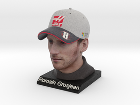 Romain 1/4 Head Figure in Full Color Sandstone