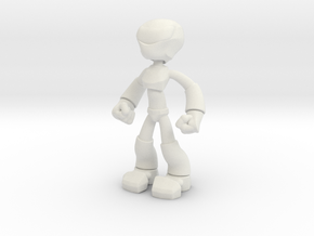 tracerBot in White Natural Versatile Plastic: Small