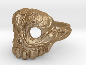 Dr. Killinger Ring Size 8 in Matte Gold Steel