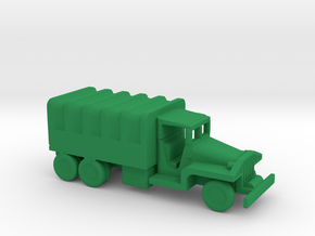 1/200 Scale CCKW Truck Covered in Green Strong & Flexible Polished