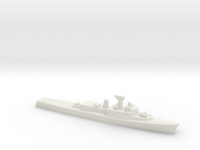 Restigouche-class DDE (1958), 1/1800 in White Natural Versatile Plastic