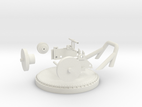 1/32 APE Winch in White Natural Versatile Plastic