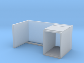 Miniature Malm Desk - IKEA in Smooth Fine Detail Plastic: 1:24