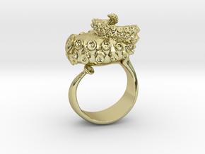 Octopus Ring  in 18k Gold: 12 / 66.5