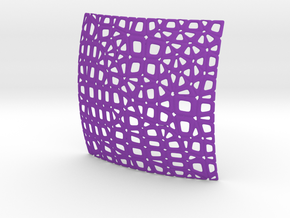 Object_RS 033 in Purple Processed Versatile Plastic