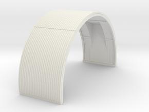 N-87-complete-nissen-hut-mid-16-door-1a in White Natural Versatile Plastic