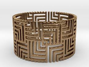 Nexus Ring (Size 11.25-13) in Natural Brass: 11.25 / 64.625