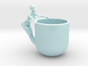 Sexy Cup in 14.5cm in Gloss Celadon Green Porcelain