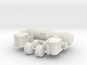 Accuair Dual Viair Kit 1/18 in White Strong & Flexible