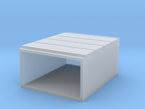 Miniature Malm 4 Drawers - IKEA in Smooth Fine Detail Plastic: 1:48