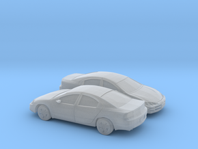 1/160 2X 1999 Dodge Intrepide in Smooth Fine Detail Plastic