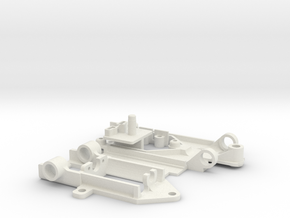 PDFFpod LanciaBetaTurbo in White Natural Versatile Plastic