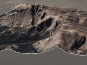 Pikes Peak, Colorado, USA, 1:25000 in Full Color Sandstone