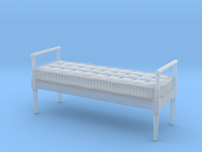 1:48 French Country Bench in Frosted Ultra Detail
