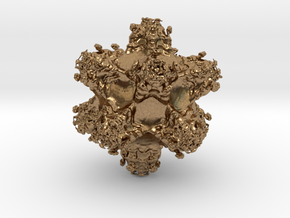 Fractal Berth1522 in Natural Brass