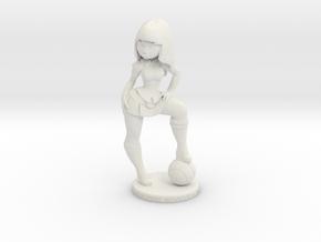 Kyoshi 01 in White Natural Versatile Plastic