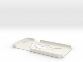 iPhone 6 Comic Girl Case in White Natural Versatile Plastic