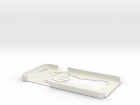 iPhone 6 Deer Case in White Natural Versatile Plastic