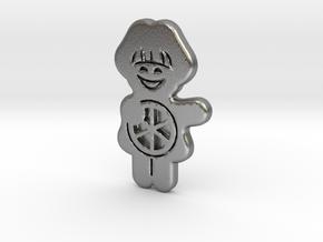 Meenzer Boebbsche 50mm in Natural Silver: Small