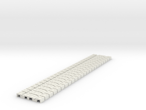 P-165st-flexi-tram-track-100-x24-1a in White Strong & Flexible