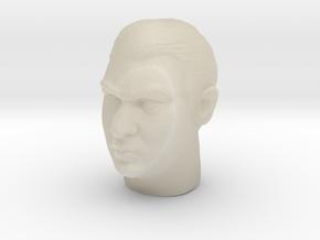 Ronnie Kray headsculpt in White Acrylic