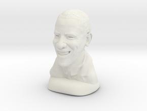 Barack Obama in White Strong & Flexible