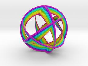 0404 Spherical Cuboctahedron (d=12cm) #005 in Full Color Sandstone