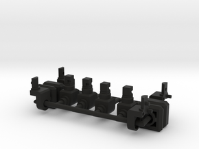CW Combiner Port to TR Peg in Black Strong & Flexible