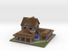 Minecraft Age Of Empires 2 Forum in Full Color Sandstone