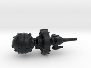 Belter Attack Cruiser v2 in Black Hi-Def Acrylate