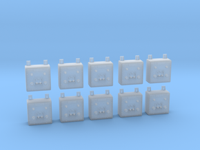 1/32 USN Wall Switch B in Smooth Fine Detail Plastic