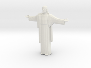 Cristo-redentor Tall in White Strong & Flexible