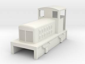 TTn3 Fowler diesel loco  in White Strong & Flexible