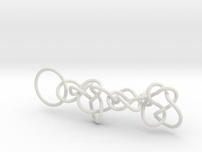 Chain1 in White Natural Versatile Plastic