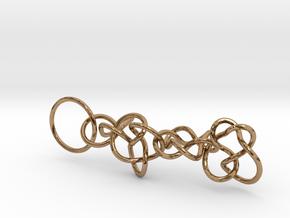 Chain1 in Polished Brass (Interlocking Parts)