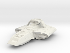Danube Class Scoutrunabout  With Weapon Pod in White Natural Versatile Plastic