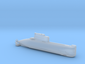 1/700 U-Boot Typ 202 | German Submarine Type 202 in Smoothest Fine Detail Plastic