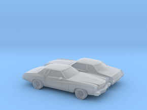 1/160 2X 1973-74 Chevrolet  Monte Carlo in Frosted Ultra Detail