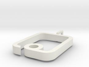 myPad Pendant in White Natural Versatile Plastic