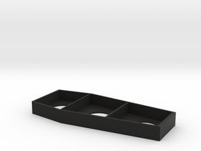 Metallica pinball coffin insert plastic in Black Natural Versatile Plastic
